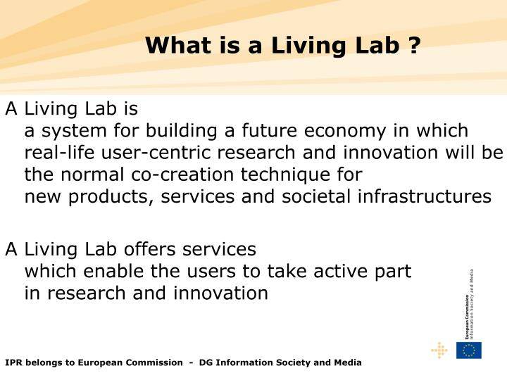 A Living Lab is