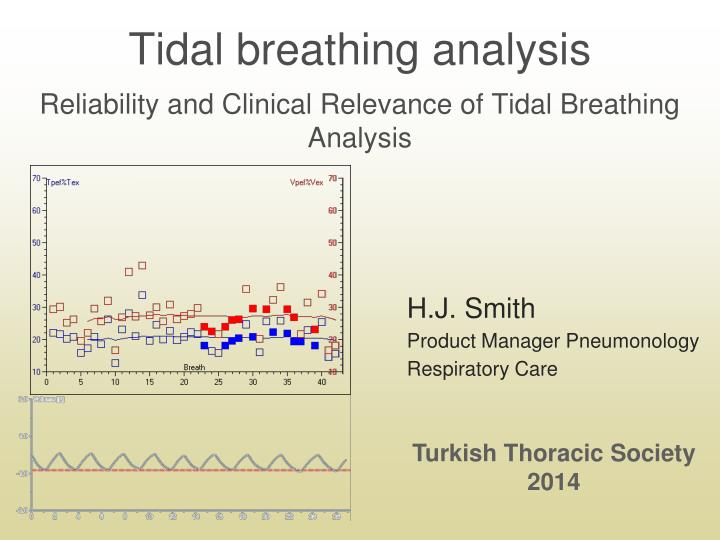 tidal breathing analysis reliability and clinical relevance of tidal breathing analysis n.