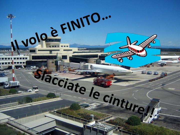 Il volo è