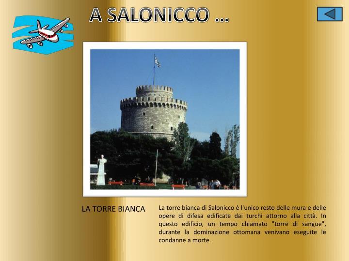 A SALONICCO …