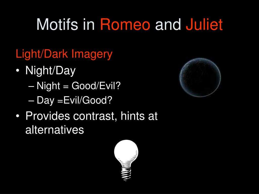 Good vs evil romeo and juliet