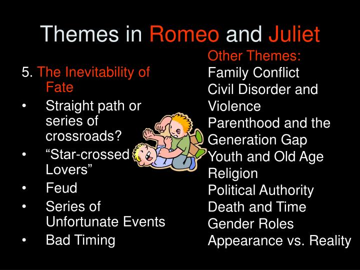 the theme of rebelliousness in romeo and juliet Themes are central to understanding romeo and juliet as a play and identifying shakespeare's social and political commentary fate from the beginning, we know that the story of romeo and juliet will end in tragedy.