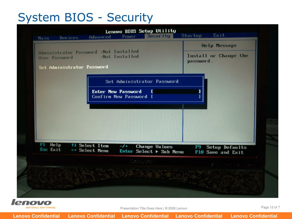 Lenovo Thinkcentre Default Bios Password