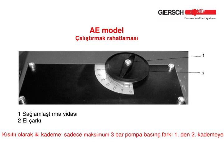 AE model