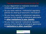 capacity assessment questionnaire ctd