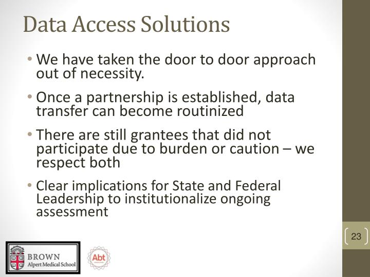 Data Access Solutions
