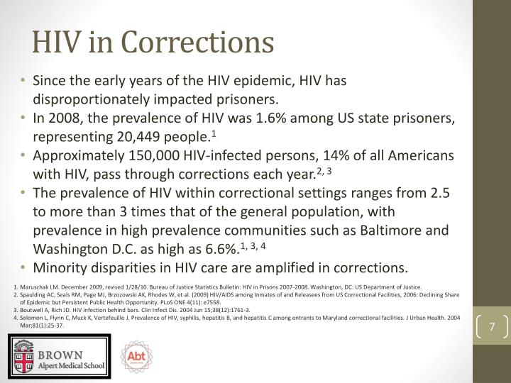 HIV in Corrections