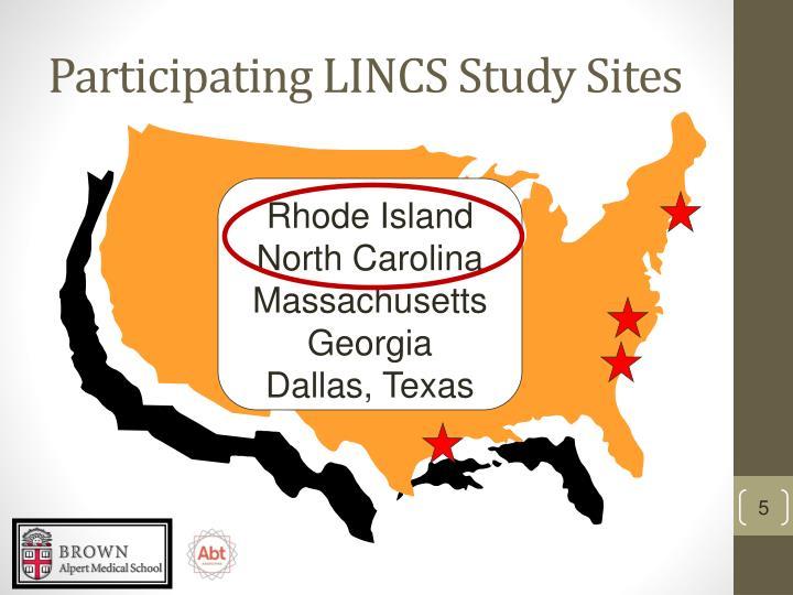 Participating LINCS Study Sites