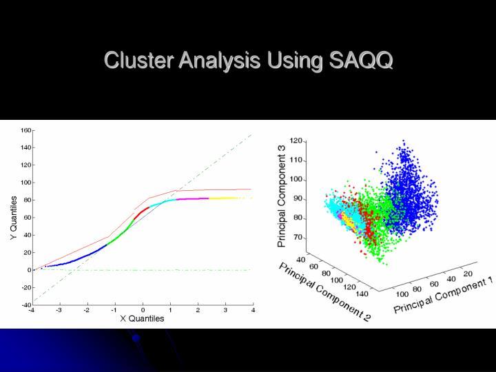 Cluster Analysis Using SAQQ