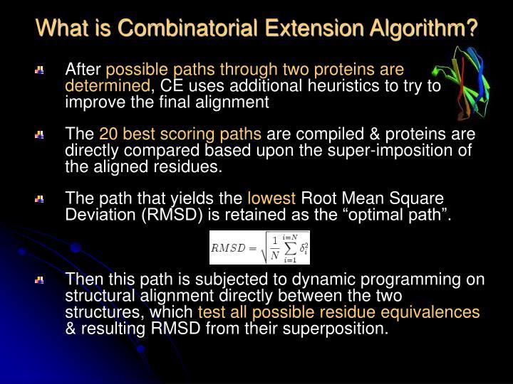 What is Combinatorial Extension Algorithm?