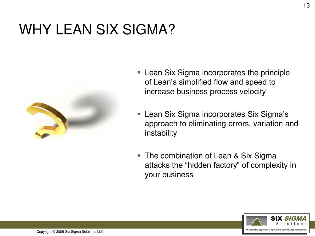PPT - How Lean Six Sigma is used as a strategic business
