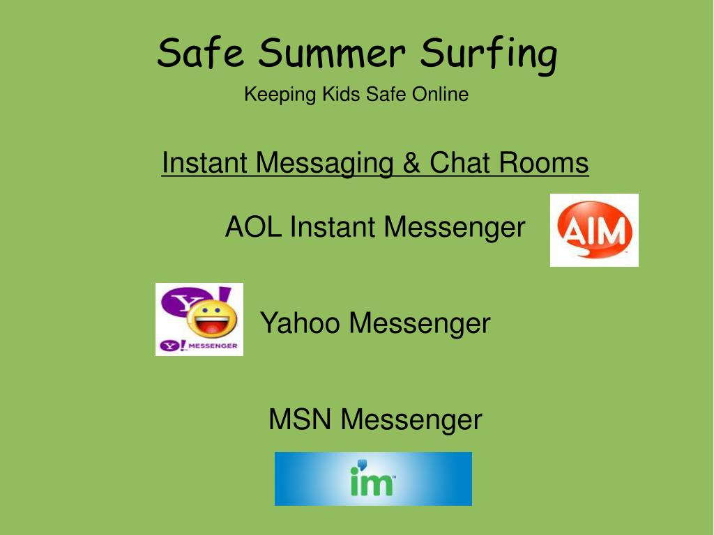 is yahoo messenger safe