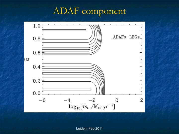 ADAF component