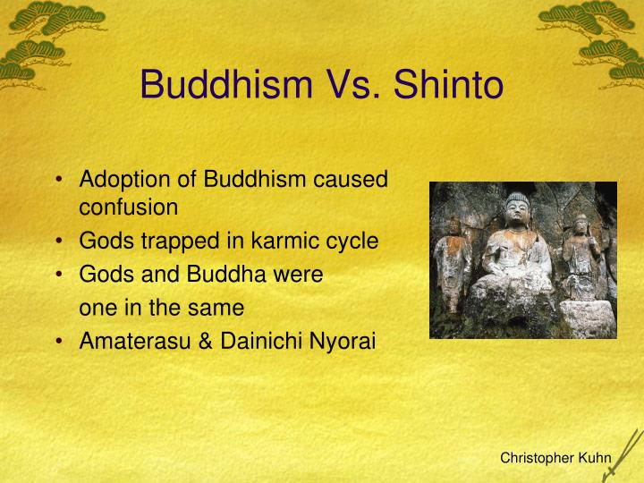 shinto and buddhism essay Related documents: shinto: shinto and common shinto prayer essay essay shinto has no founder in the sense that buddhism or christianity has a founder.