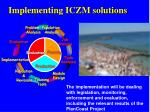 implementing iczm solutions