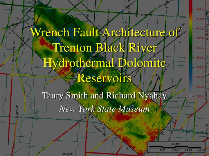 wrench fault architecture of trenton black river hydrothermal dolomite reservoirs n.