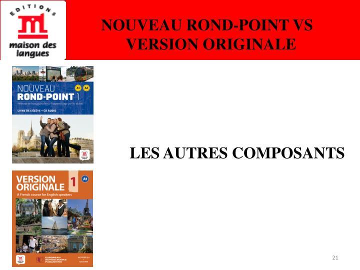 NOUVEAU ROND-POINT VS