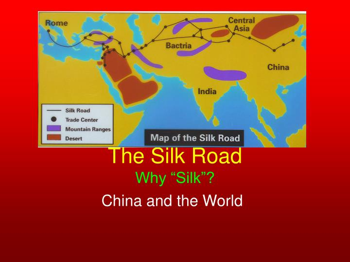 the silk road why silk n.