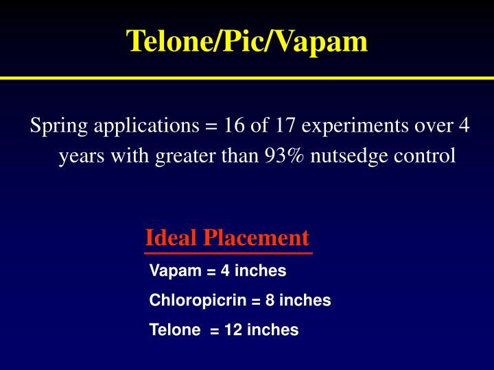 Telone/Pic/Vapam