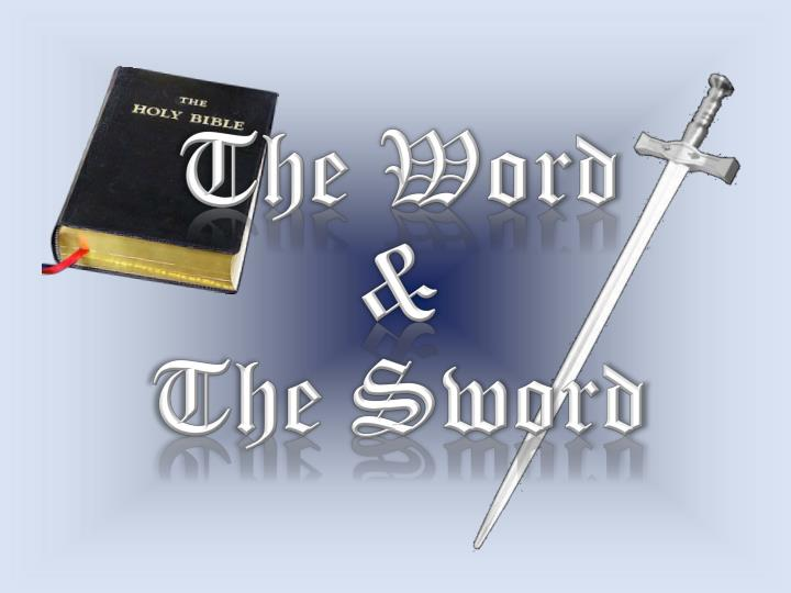 the word the sword n.