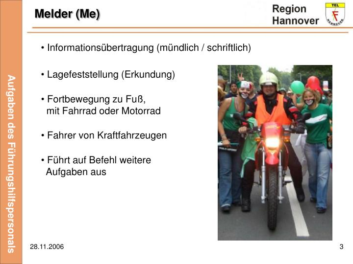Melder (Me)