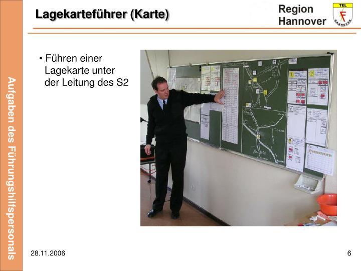 Lagekarteführer (Karte)