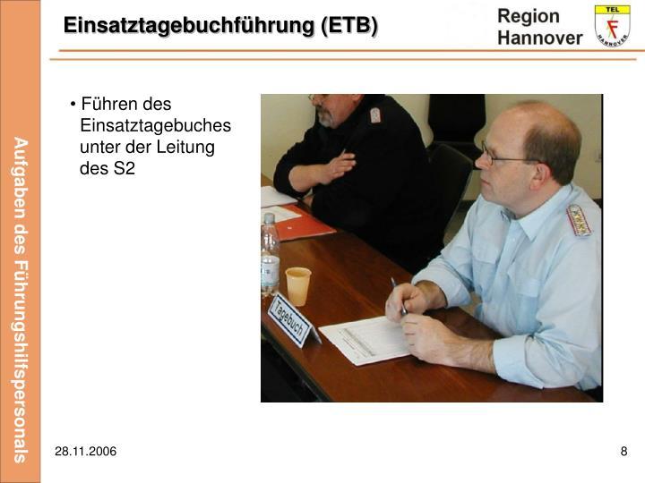 Einsatztagebuchführung (ETB)