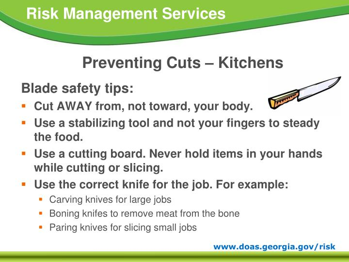 Ppt Preventing Cuts Scrapes And Punctures Powerpoint