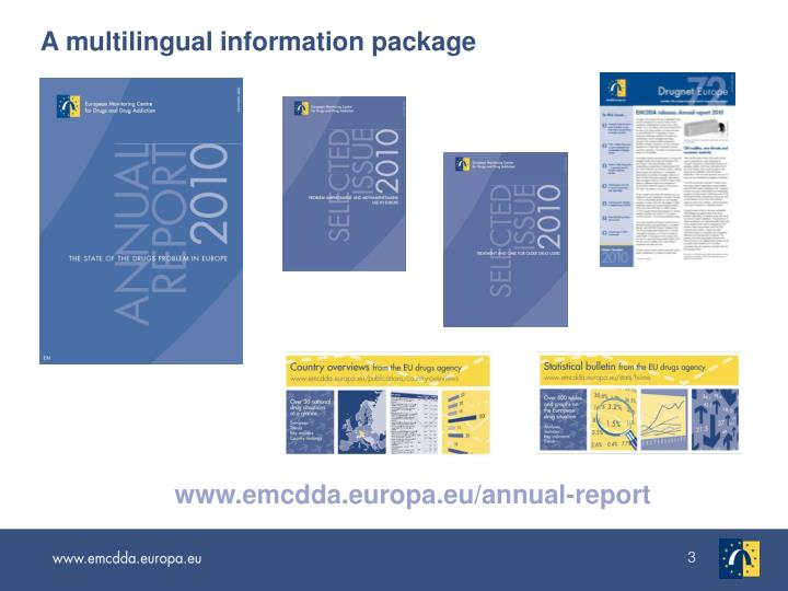 A multilingual information package