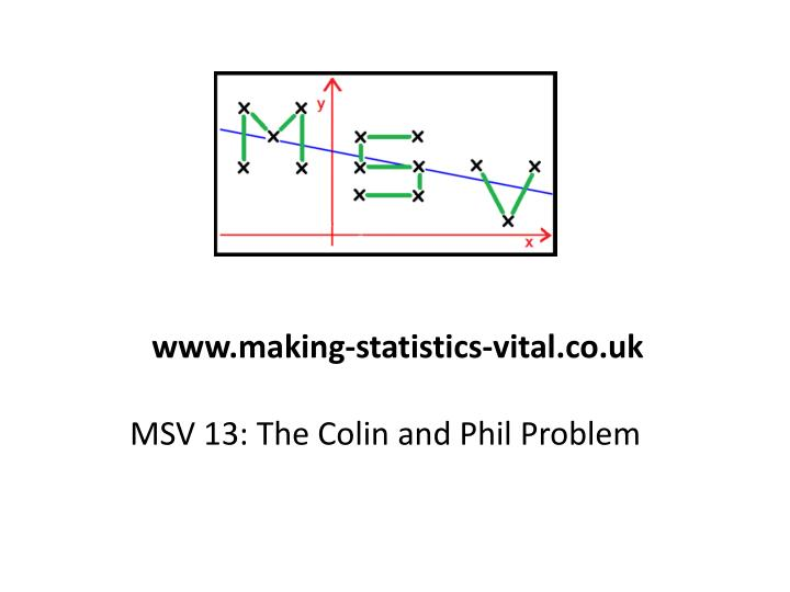 msv 13 the colin and phil problem