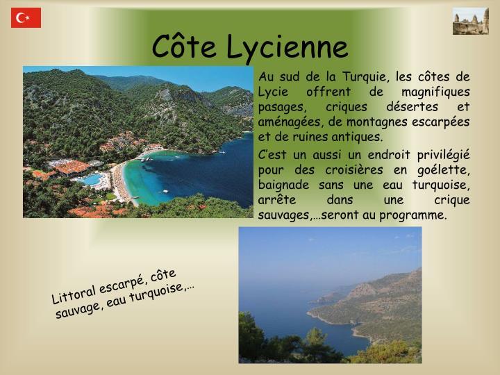 Côte Lycienne