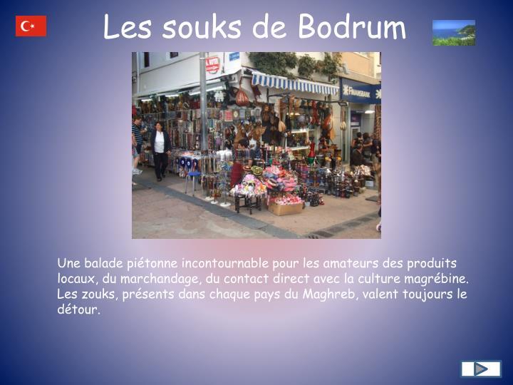 Les souks de Bodrum