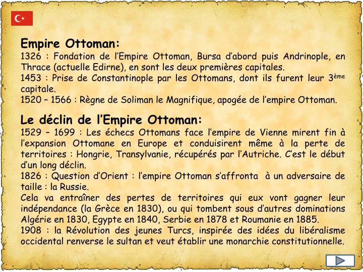 Empire Ottoman: