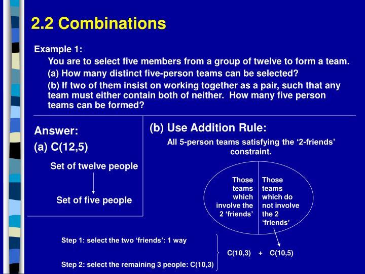 Set of twelve people