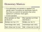 elementary matrices2