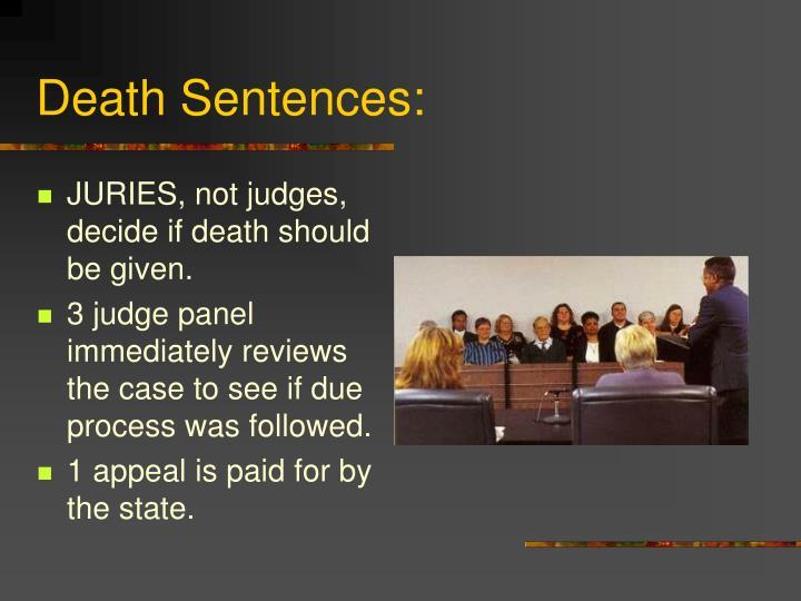 Death Sentences: