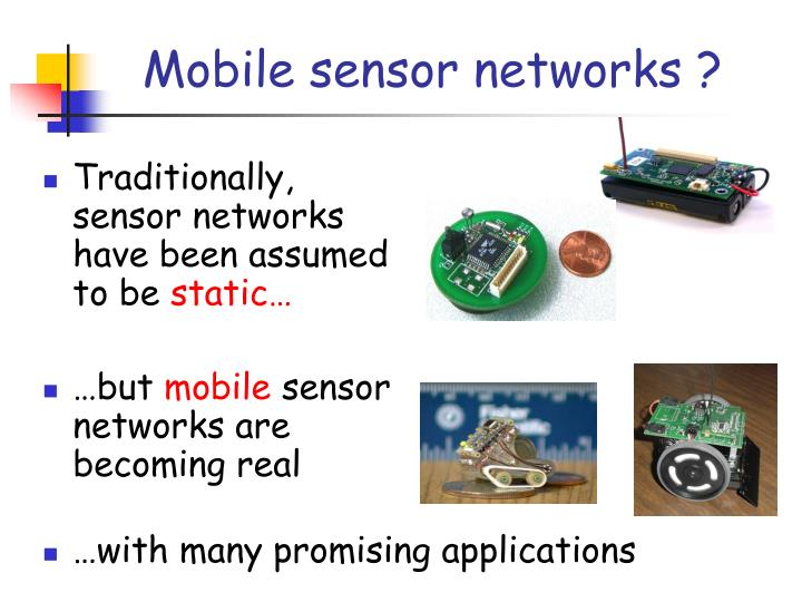 mobile sensor network for indoor environment The framework proposed in this study is used to track mobile robots in an indoor wireless sensor network environment as shown in figure 1 , there are some key network entities in the framework (1) wireless sensor nodes.