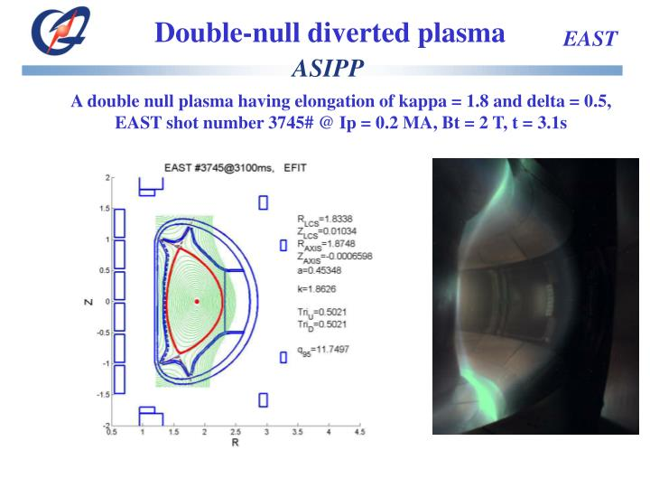 Double-null diverted plasma