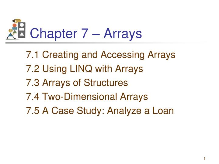 chapter 7 arrays n.
