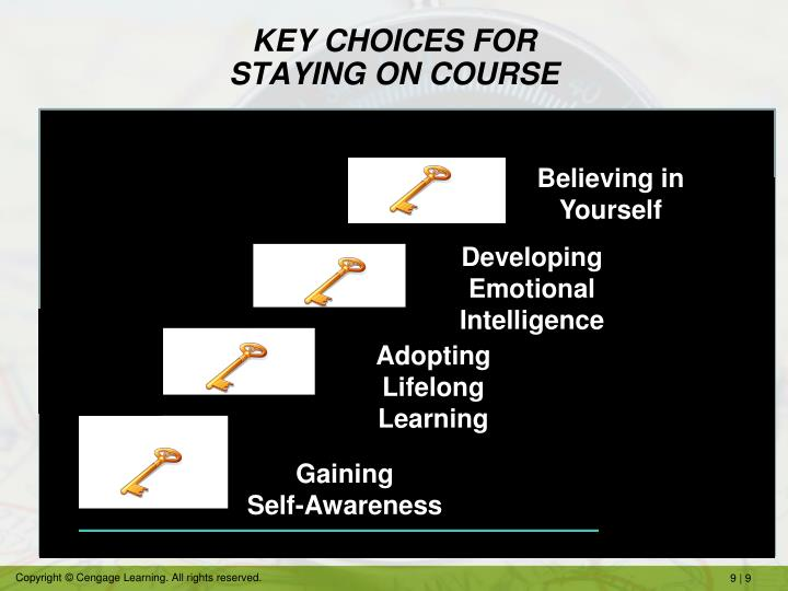 KEY CHOICES FOR