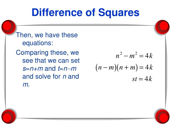 Then, we have these equations:
