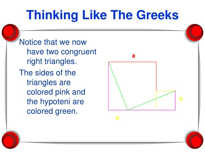 Thinking Like The Greeks
