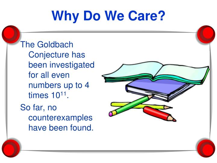 The Goldbach Conjecture has been investigated for all even numbers up to 4 times 10