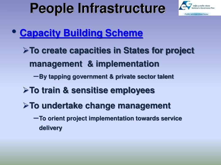 People Infrastructure