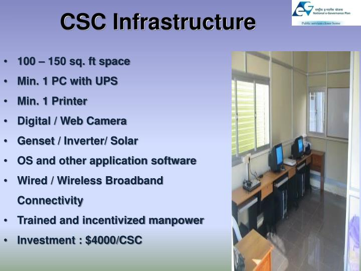 CSC Infrastructure