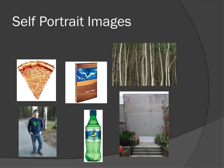 Self portrait images