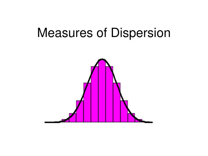 measures of dispersion Advertisements: the below mentioned article provides a close view on the measures of dispersion in statistics dispersion meaning and classification: while making any data analysis from the observations given on a variable, we, very often, observe that the degree or extent of variation of the observations individually from.