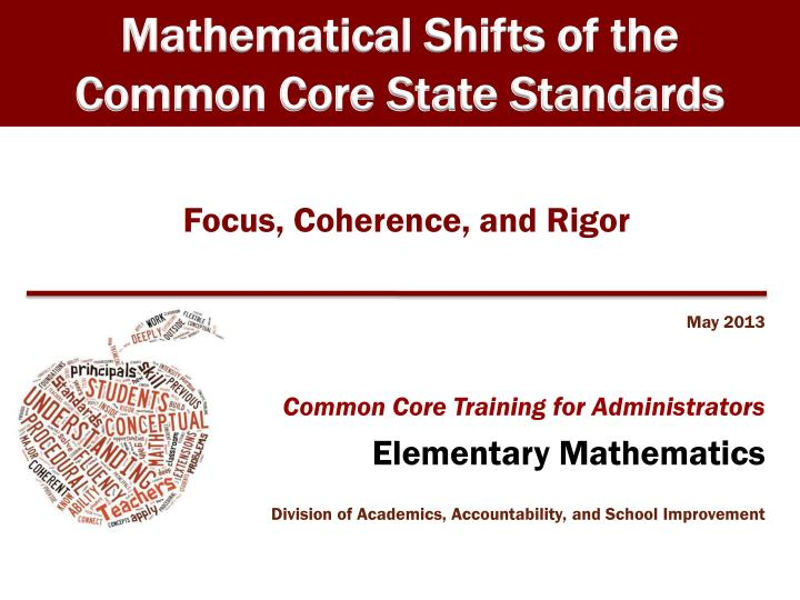 focus coherence and rigor n.