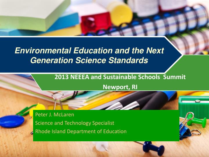 environmental education and the next generation science standards n.