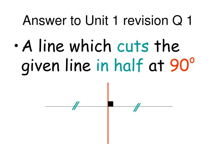answer to unit 1 revision q 1 n.